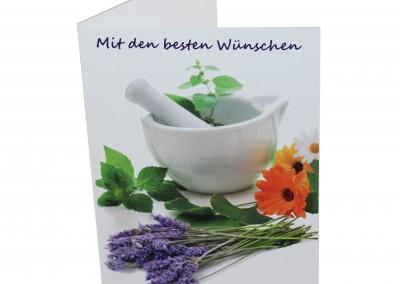 Geburtstagskarte Apotheke für Kunden